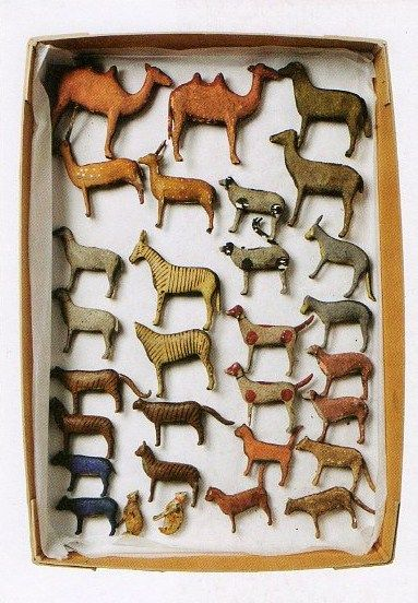 ∷ Variations on a Theme ∷ Collection of Noah's Ark Toys from The Mary Greg Collection (photo Ben Blackall)
