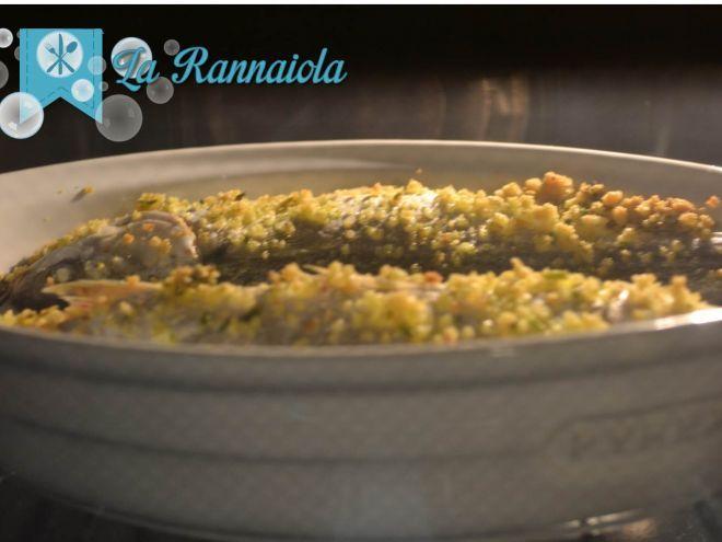Cefalo al forno con panure (ottima ricetta per tutto il pesce povero !)