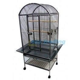 160cm tall metal bird/parrot cage. Suitable for large size parrots and birds. Similar products would cost over $600+ in local pet stores. Optional canvas cover available. #parrotcagecover #parrotcageideas