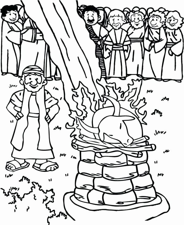Elijah And The Widow Coloring Page Best Of Elijah Coloring Pages
