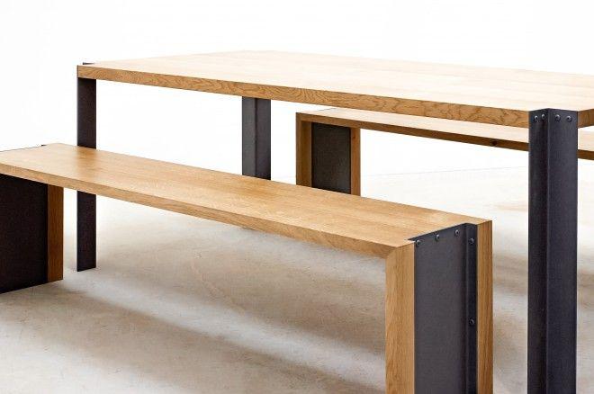 table-banc-bois-chene-folsom
