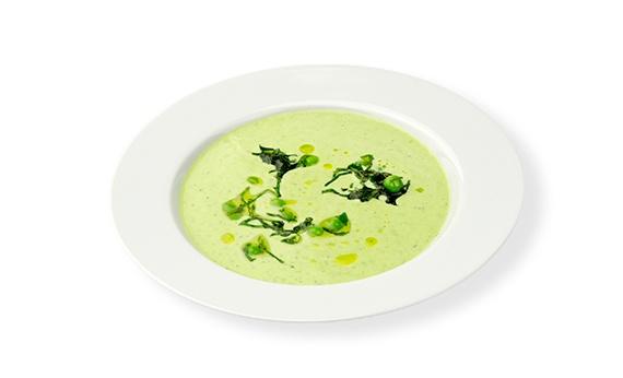 Ihr glaubt gar nicht wie viele verschiedene Suppenarten es gibt. Da gibt es zuerst mal klare Suppen und gebundene Suppen. Unter gebundenen Suppen gibt es Püreesuppen, Rahmsuppen, Veloutés, Gemüsesuppen, Kaltschalen, uvm. Wir zeigen Euch in unserem Onlinemagazin http://www.cleverleben.at/clever-magazin/post/2012/11/12/die-suppe.html wir Ihr eine köstliche Erbsen-Minz-Joghurt Kaltschale als zweiten Gang zubereitet.