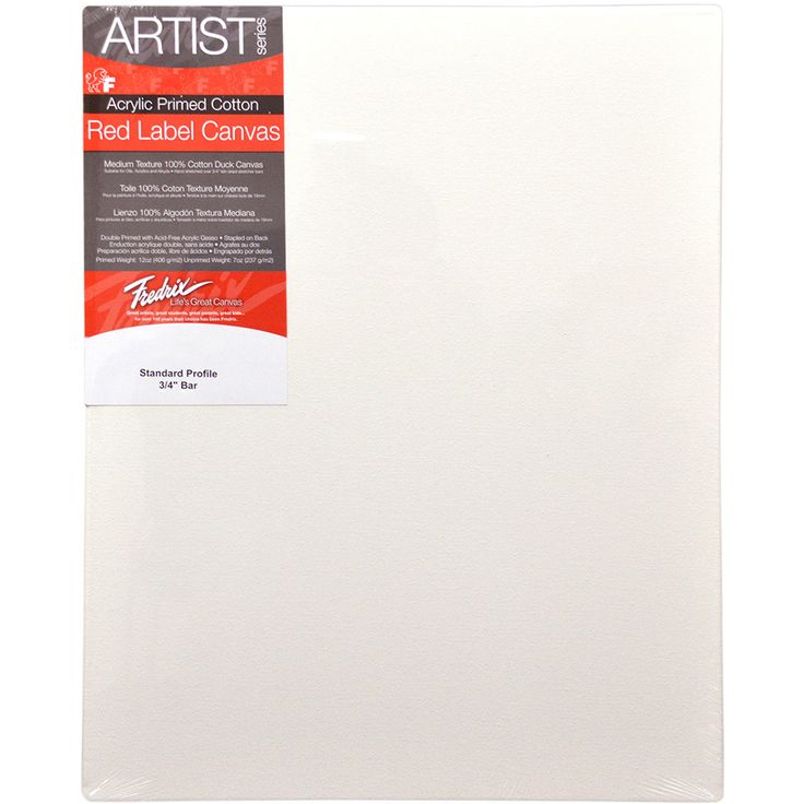 "Tara Fredrix Stretched Canvas-12""""X16"""""