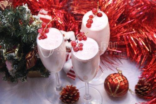 Сливочный десерт Новогодний
