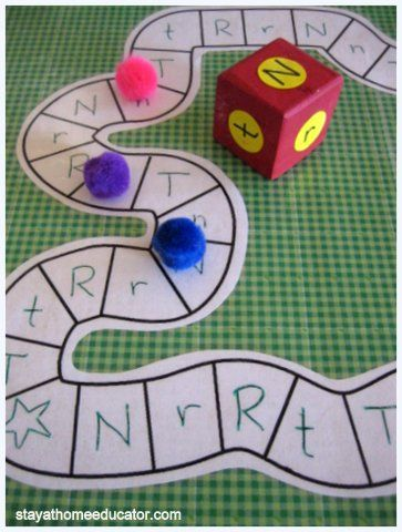 Game for students that are struggling with letter identification in first grade.