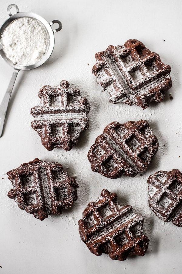 Belgian Brownie Waffles