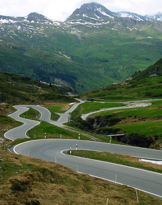 Drive the best roads in the world - San Bernardino Pass, Switzerland and Stelvio Pass, Italy