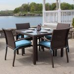 16 Awesome Wicker Outdoor Dining Furniture Inspiration Idea