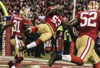 NaVorro Bowman Becomes Candlestick Legend