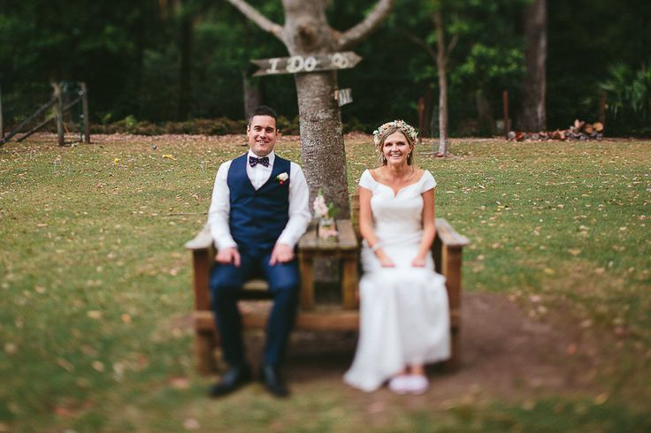 """Tracy and Andrew - Our beautiful wedding at """"Lilyvale"""" Royal National Park, NSW, Australia - 9 Nov 2013 Bride and Groom"""
