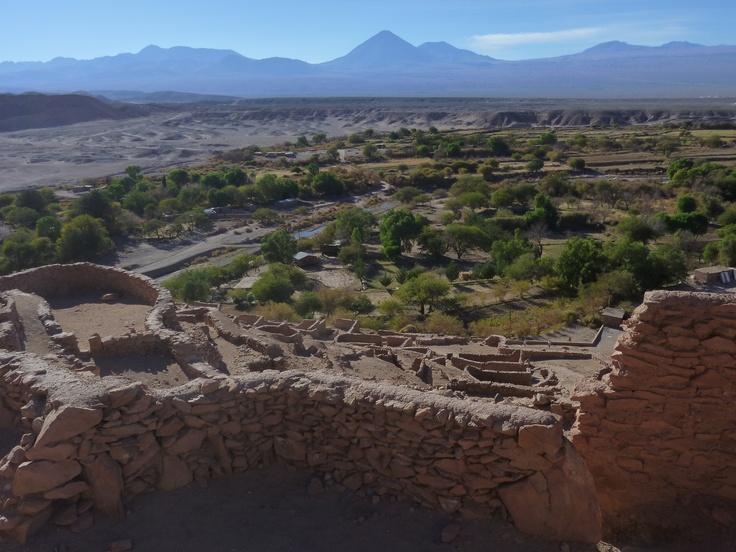 ruins of Pukara de Quitor