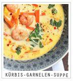 Kürbis-Garnelen-Suppe http://www.whatinaloves.com/2013/09/eine-neue-soup-of-week-oder-die.html