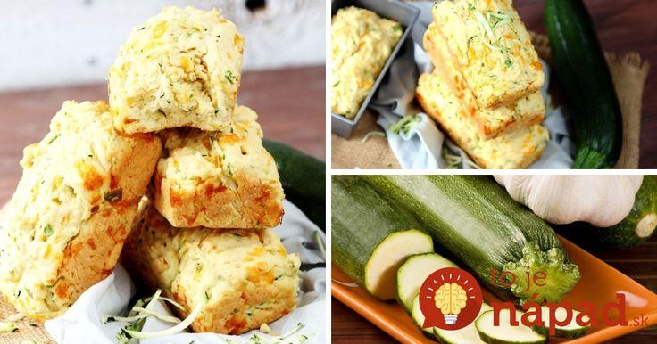 Ľahký, chrumkavý a úžasne chutní chlebík z cukety, syra a vôňou cesnaku.
