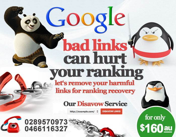Bad links can hurt your rankings, let us manage and remove your harmful links for ranking recovery.