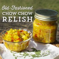 Ever wanted to know how to make good, old-fashioned chow chow? Here's a fool proof recipe!