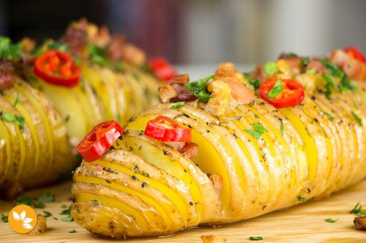 Batatas Hasselback