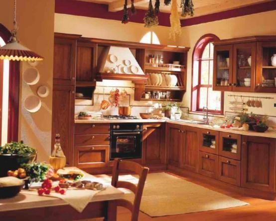 Стильная и компактная кухня Рико с угловым расположением шкафов подойдет для квартиры и загородного дома http://www.mebel-zevs.ru/kukhni/kukhnya_riko