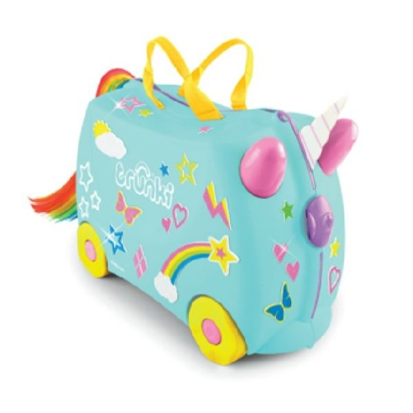 Buy quality Trunki Kids Suitcase online at Fairy Blossom and Friends. We offer the fun, ride-on Trunki Suitcases in Melbourne and across Australia with Flat Rate shipping.