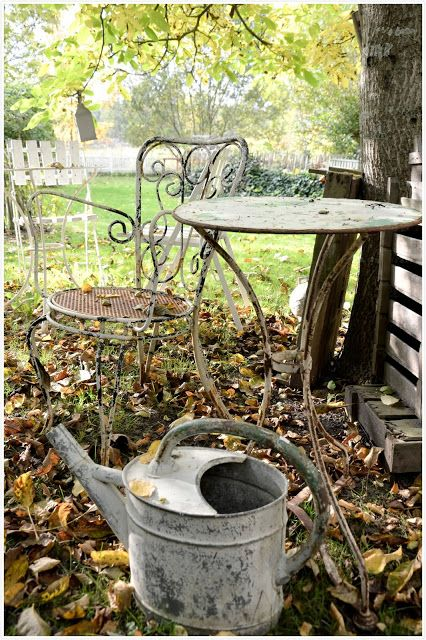 A place to sit down and relax. Perfect for it's imperfection.