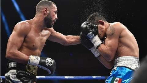 May 1 2016 - James DeGale retains his IBF super-middleweight title after beating Rogelio Medina on points