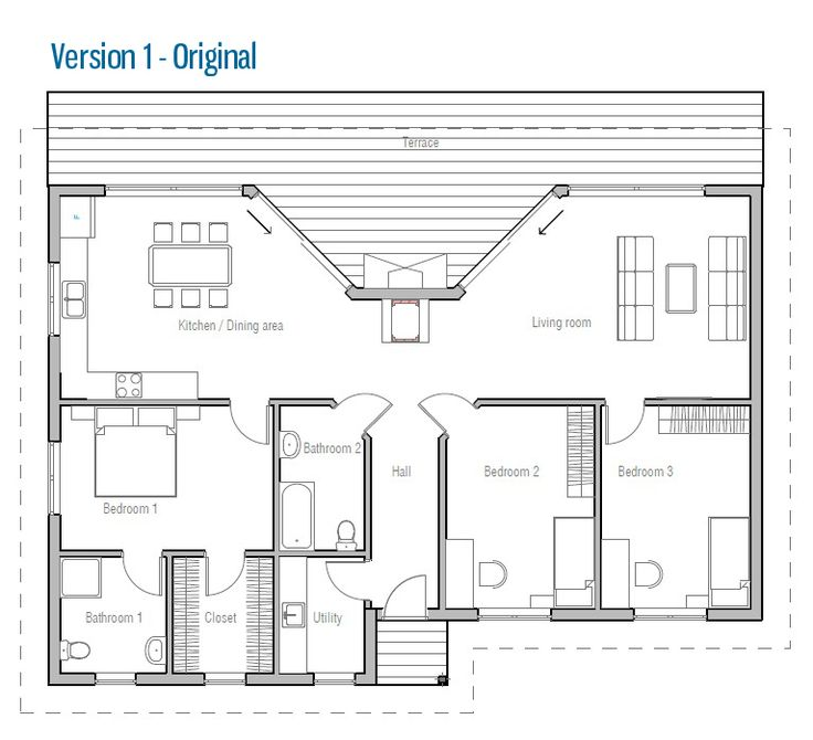 40 best Plan images on Pinterest | Architecture, Small houses and ...