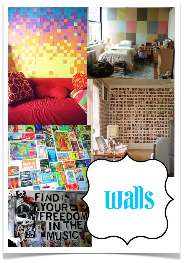 Dorm Room Themes for Girls | Diy Dorm Room Ideas Photograph | 10 Rooms: The Dorm Room: Be