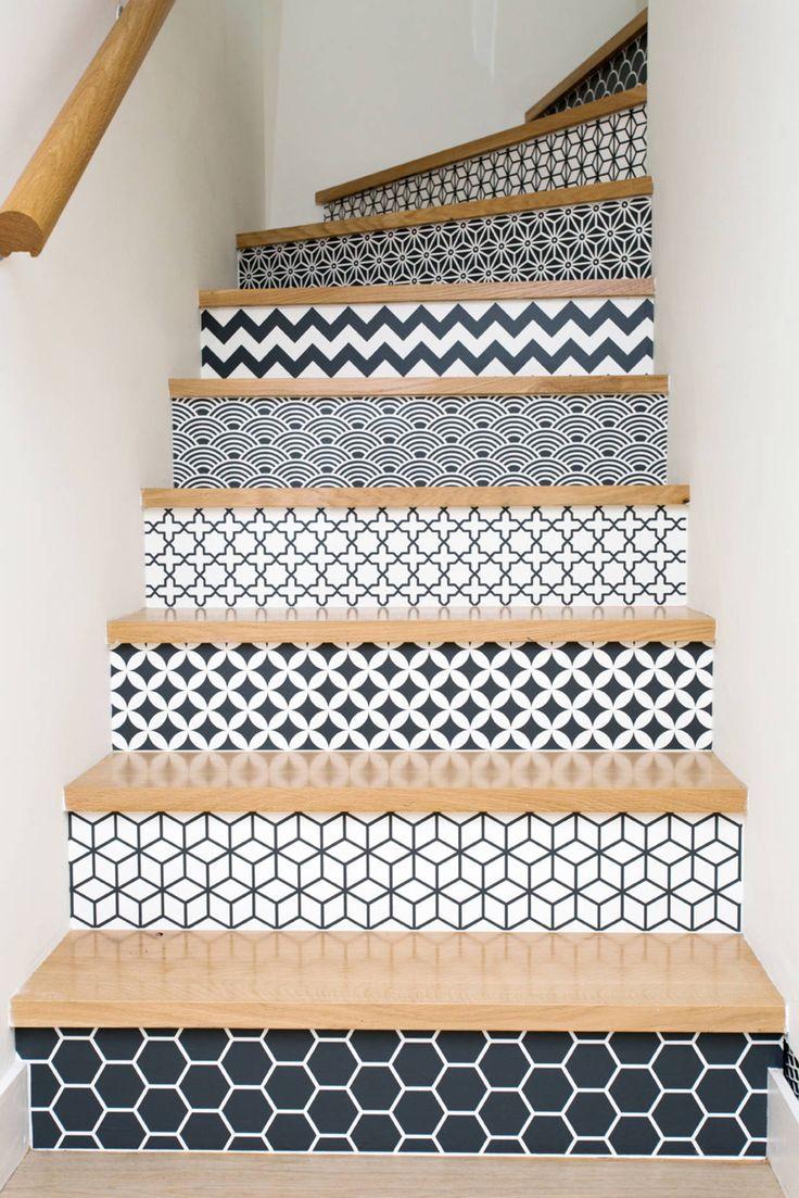 PROJET CBB : Couloir, entrée, escaliers originaux par 19 DEGRES