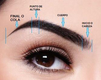 Resultado de imagen para modelos de cejas segun el rostro