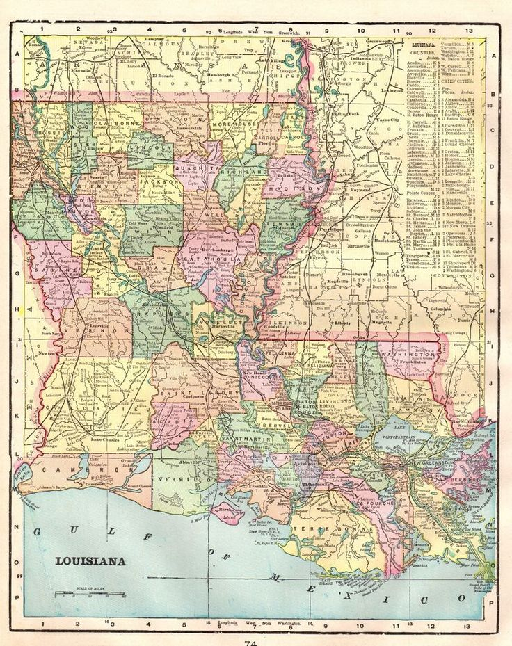 Best 25 Map of louisiana ideas on Pinterest Louisiana map Map