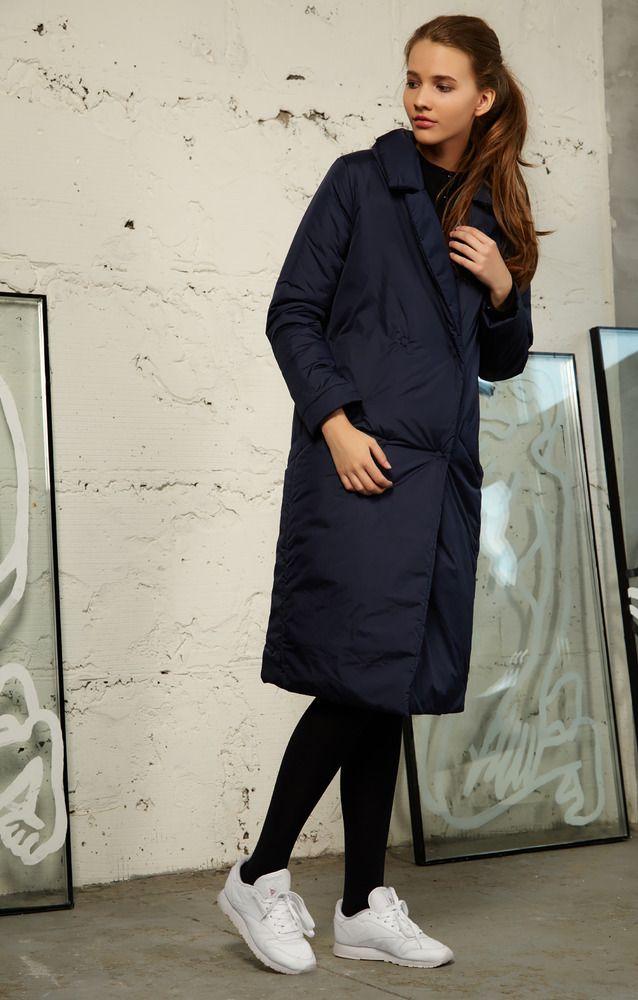 Купить Пальто Trends Brands Base AW1608_coat006_navy недорого: цена, фото, описание - trendsbrands.ru — Trends-Brands