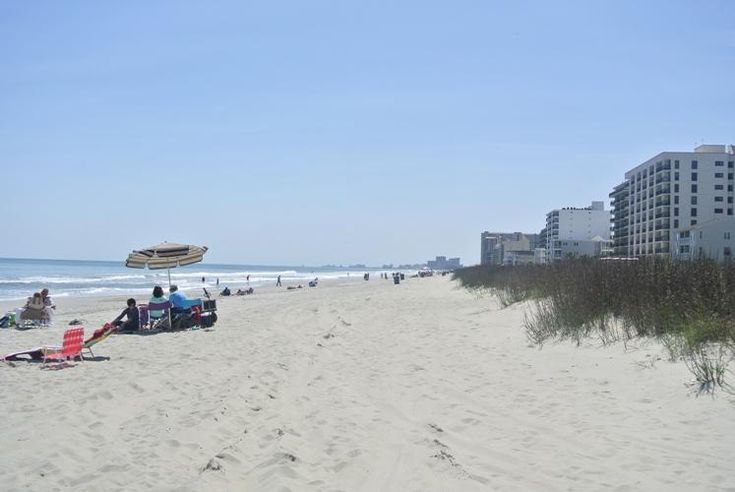 "If you are looking for your own ""home at the beach"" for your vacation getaway, our North Myrtle Beach beach house rentals may be your answer!  #NorthMyrtleBeach #BeachTown"