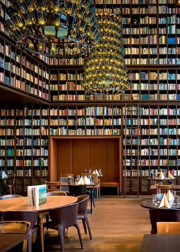 The Wine Library in Zurich. Library Escape