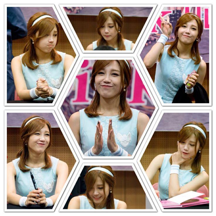 Jung Eun Ji in Fan Signing Event