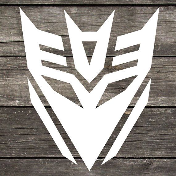 Transformers decepticon premium indoor outdoor vinyl perfect for car windows laptops or any