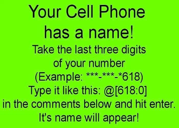 Whats your mobile phone name? | Computers/ Inventions / PC ...