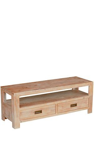 """Made from solid Acacia wood with a wire brushed finish, the Kalahari range complements a classic room set. This plasma unit is the perfect addition to your lounge.<div class=""""pdpDescContent""""><ul><li> Acacia wood</li><li> No assembly required</li></ul></div><div class=""""pdpDescContent""""><BR /><b class=""""pdpDesc"""">Dimensions:</b><BR />L120xW40xH42 cm<BR /><BR /><div><span class=""""pdpDescCollapsible expand"""" title=""""Expand Cleaning and Care"""">Cleaning and Care</span><div class=""""pdpDescContent""""…"""