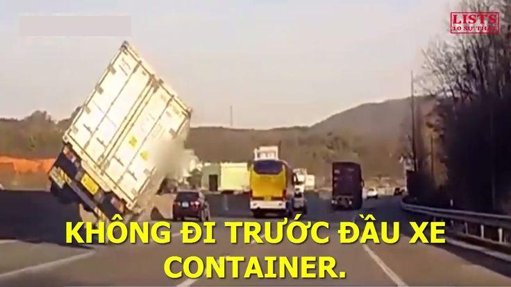 """5 lời khuyên xương máu của """"tài xế"""" lái container với người đi xe máy ở ..."""
