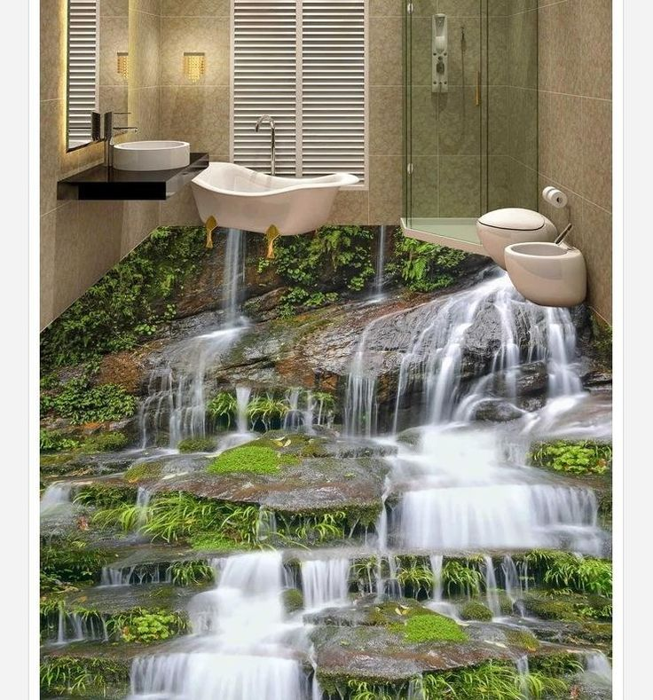 Sob encomenda da foto de água piso chão wallpaper 3D estereoscópico 3D 3D mural PVC papel de parede auto adesão até wallpaer 201515730 em Papéis de parede de Casa & jardim no AliExpress.com | Alibaba Group