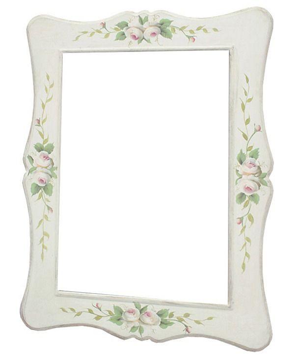 Vintage zrkadlo Kvety - Najlepsinabytok.sk - Doprava ZDARMA!