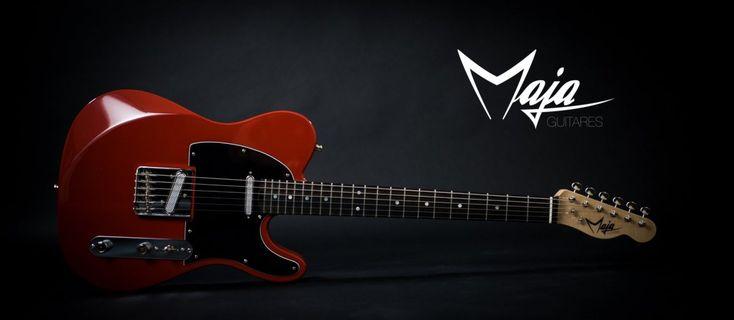 Maja Guitares type Télécaster