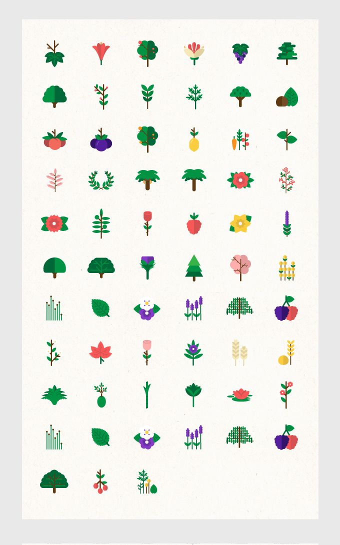 plants icon, joao ricardo machado