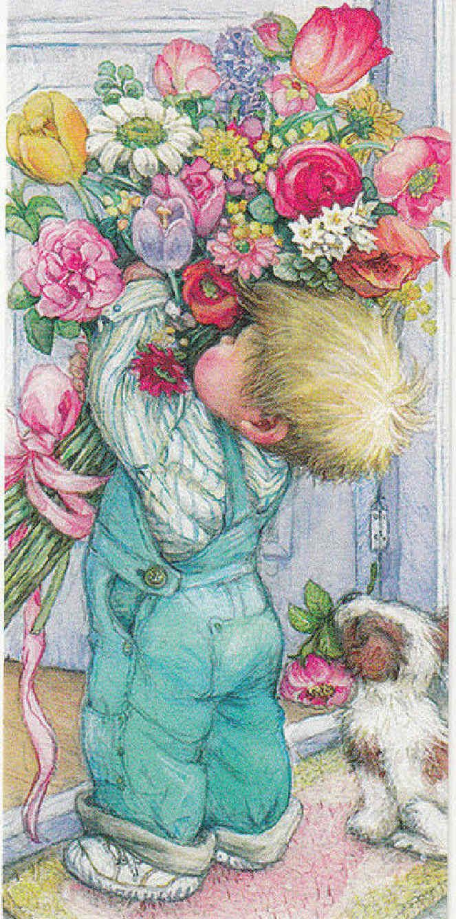 Flowers for Mama  <3 this is how I felt when my sons would pick one wild flower and give it to me!!!!: