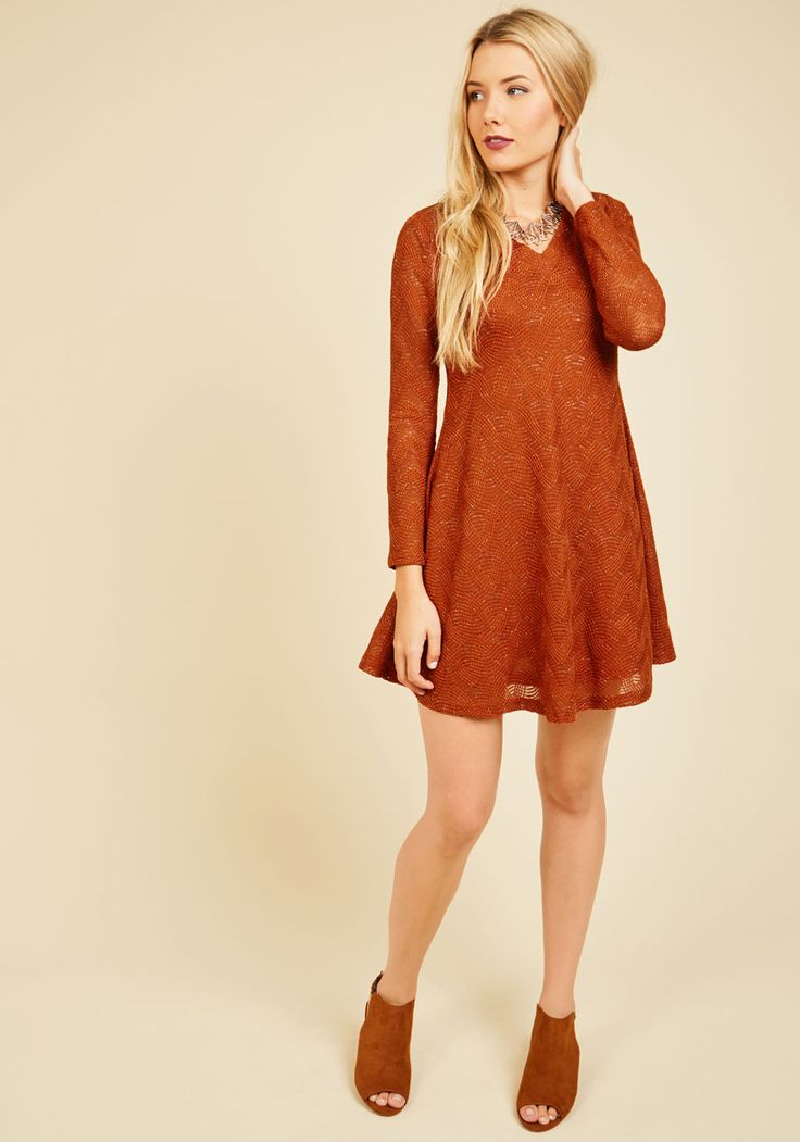 Your Next Texture Sweater Dress
