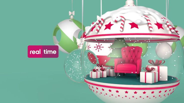 Xmas Brand Id /// Real Time. Client: Discovery Channel  Art Direction: Chiara Cerutti Producer: Anna Passarini 3D, Animation, Design: Alkano...