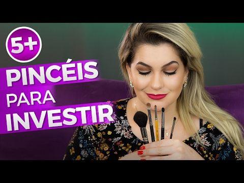 5+ PINCÉIS PARA INVESTIR NA MAQUIAGEM | Alice Salazar