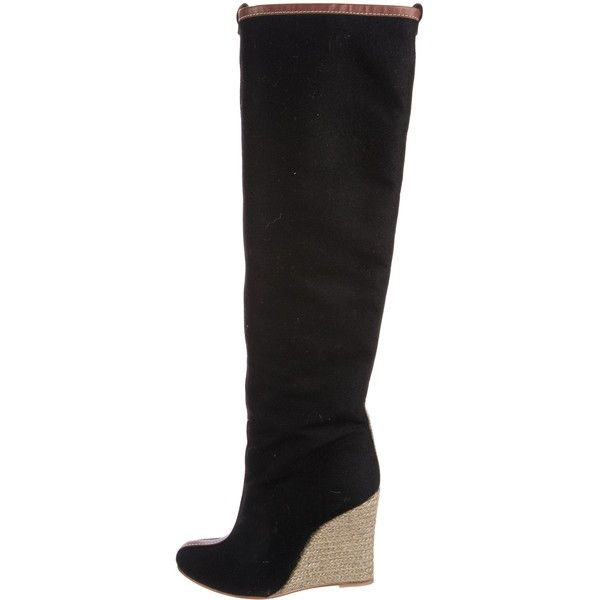 Christian Louboutin Jessy Knee-High Wedge Boots for sale free shipping clearance amazon R9vAL6jar