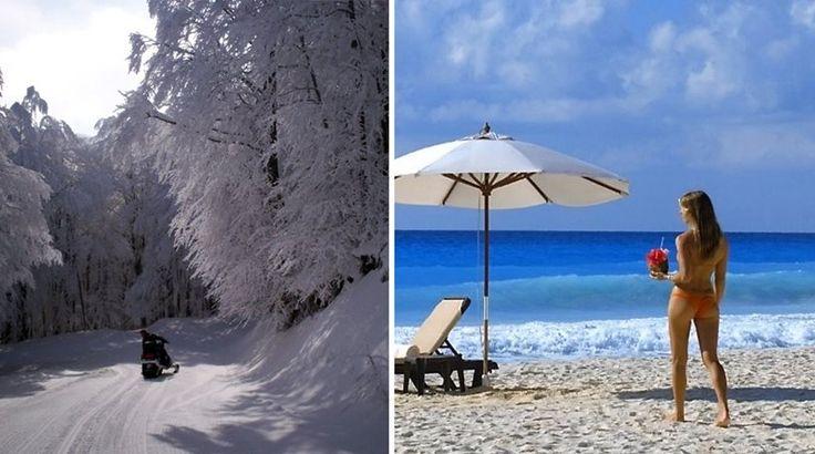 Τα ακραία καιρικά φαινόμενα στην Ελλάδα το 2017: Από τους -18,8 στους 45,9 βαθμούς Κελσίου