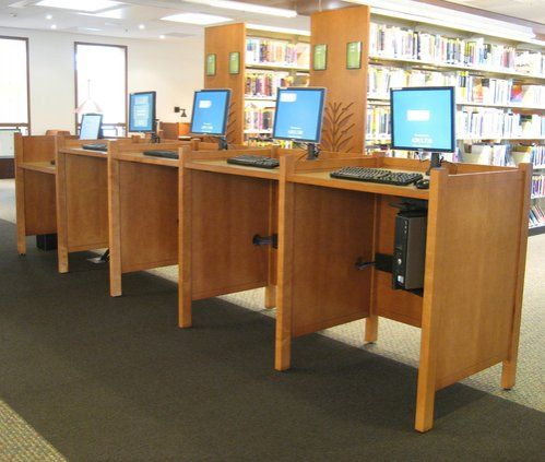 13 best images about Library Work Stations on Pinterest