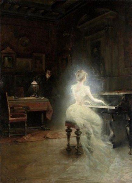 "catonhottinroof: "" George Roux Spirite, 1885 """