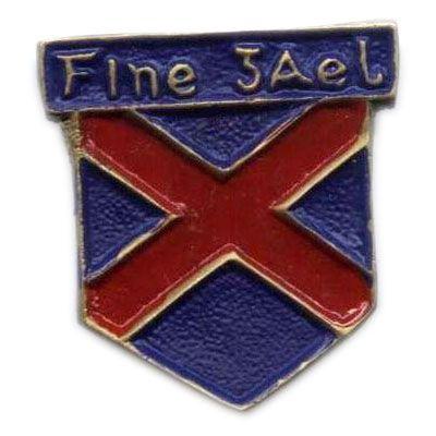 Irish Army Comrades Association - Blue Shirts Metal Badge (modern reproduction ?)